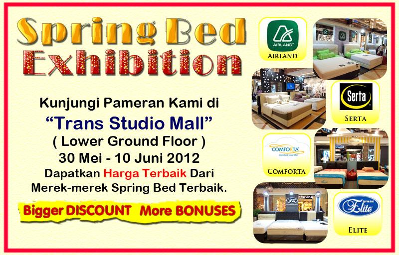 Promo Tempat Tidur Spring Bed