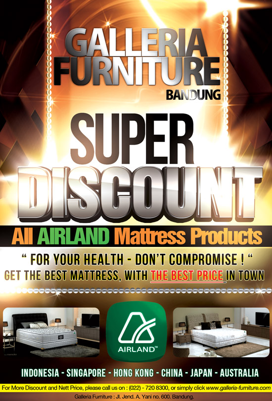 Airland Spring Bed 2012