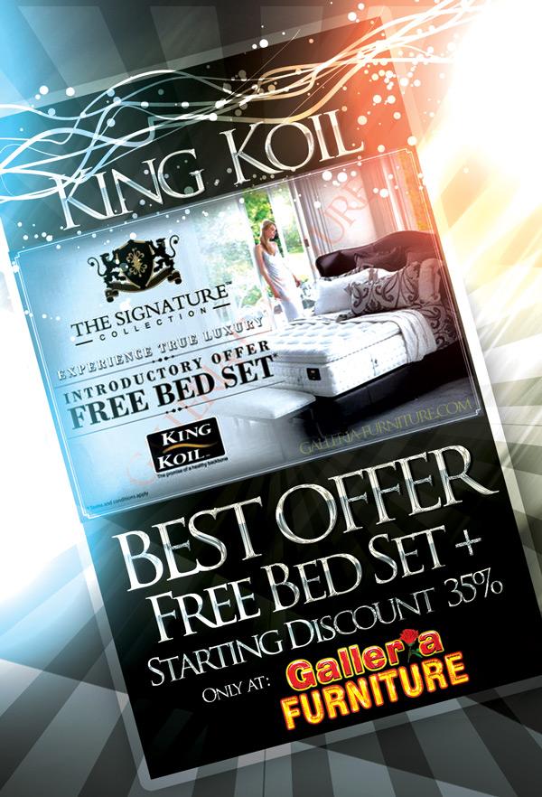 Promo Harga King Koil Spring Bed Murah - Chiropractor Endorsed, Elegance - Bandung