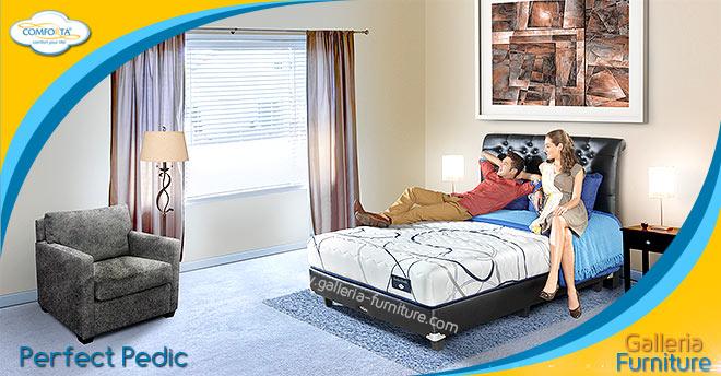 Matras Spring Bed Comforta Perfect Pedic