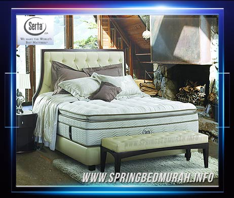 Matras Spring Bed Serta iSolitaire