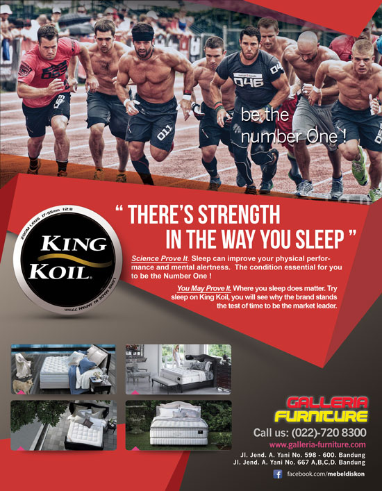 Harga Spring Bed King Koil Murah-Galleria Furniture Bandung