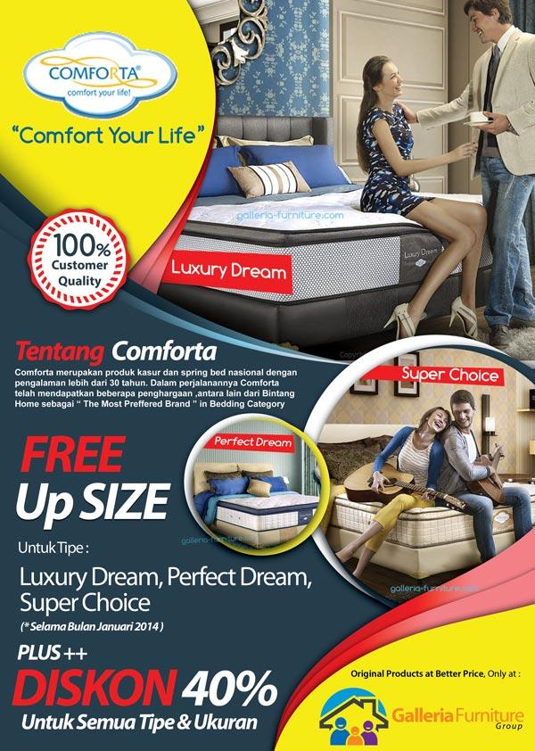 Harga Kasur Spring Bed Comforta