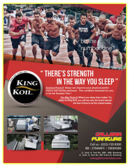 King Koil Springbed-Galleria Furniture Bandung