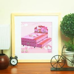 Spring Bed Anak 2in1 Hello Kitty