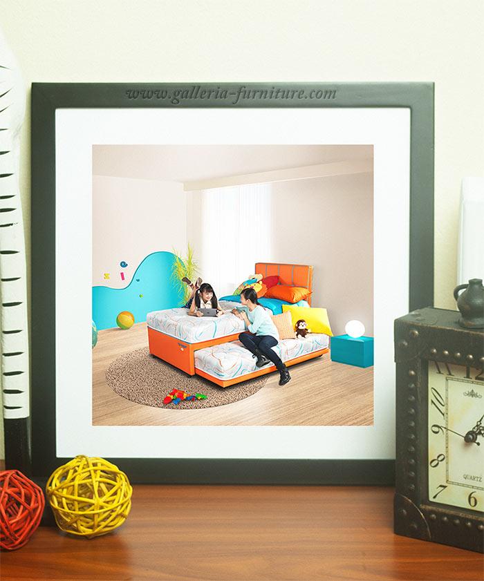 Gambar SPring bed anak 2in1 comforta teenager plus