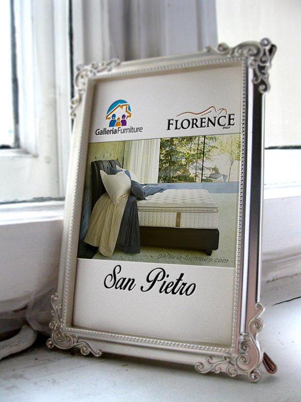Gambar KAsur Spring Bed Florence San Pietro