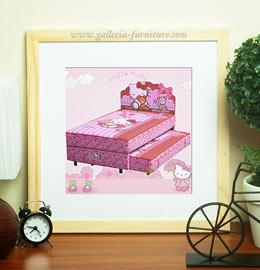 Harga Spring Bed Anak Bigland Hello Kitty
