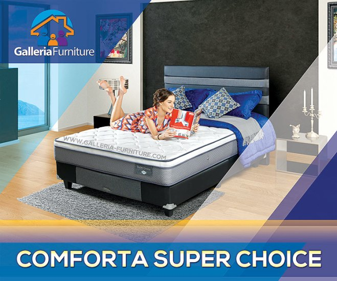 Gambar Harga KAsur spring bed Comforta Super Choice