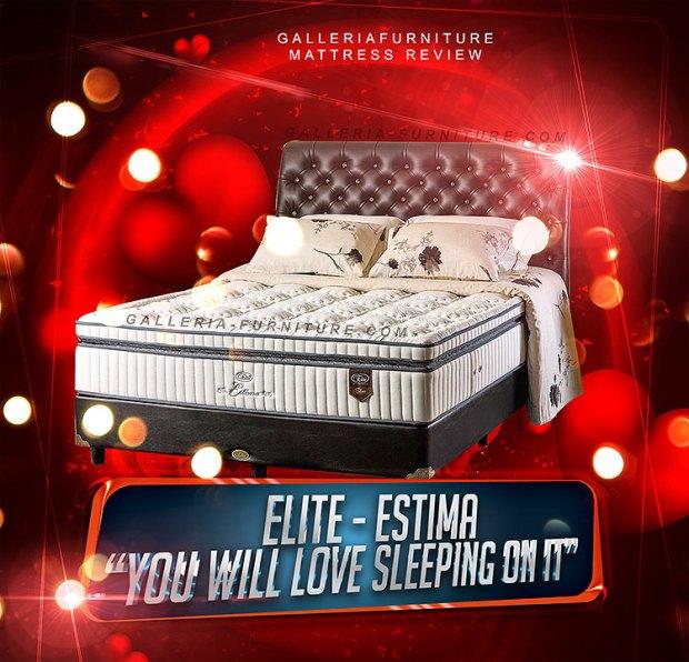 Spring Bed Elite Estima - Gambar dan Harga