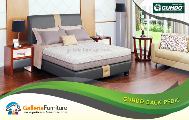 Matras Spring Bed Guhdo Latex Tipe Back Pedic