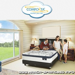Review dan Daftar Harga Spring Bed Comforta Perfect Dream