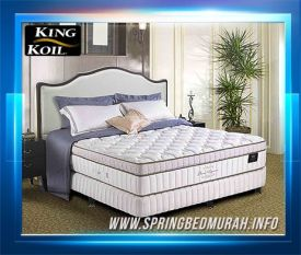 Spring Bed King Koil Grand Elegance - Gambar, Harga, Review