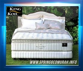 Spring Bed King Koil International Classic - Gambar, Harga, Review