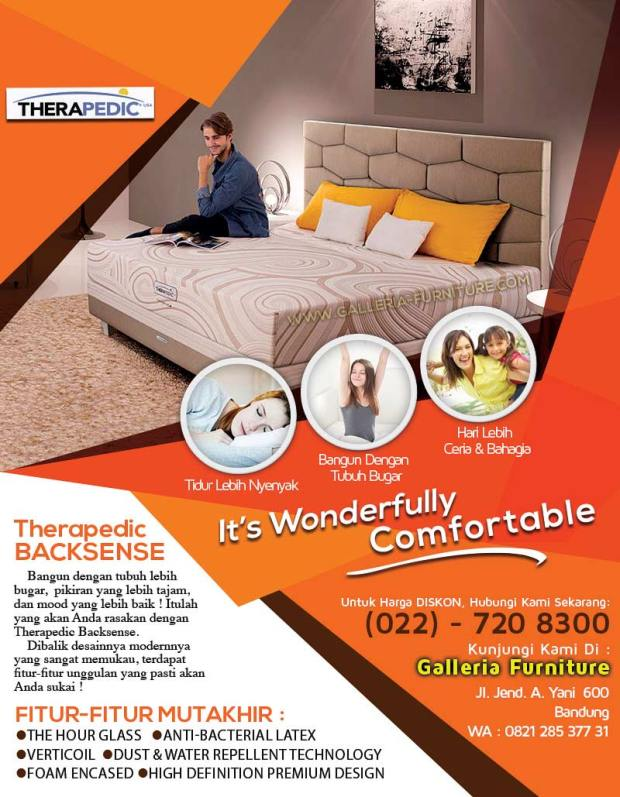 Harga Promo Therapedic Backsense