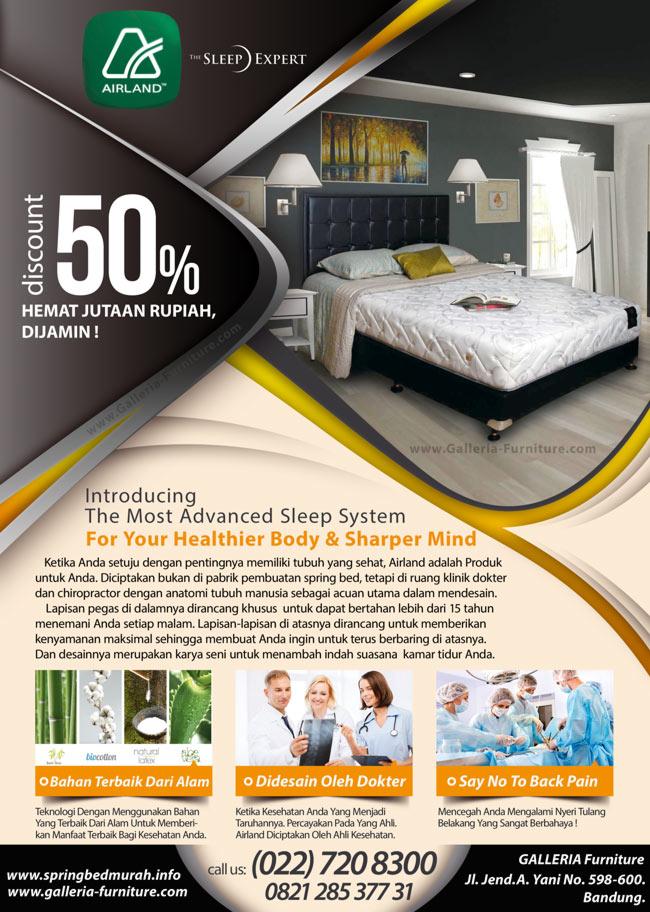 Merk kasur spring bed bagus murah