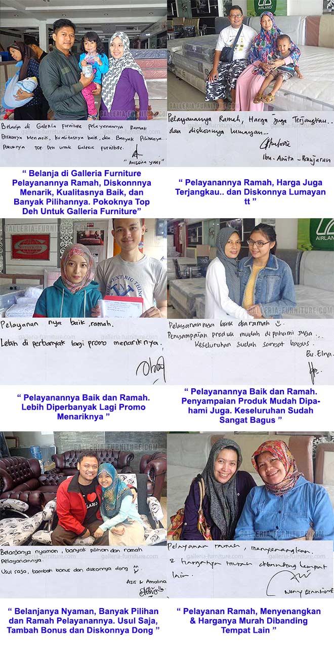 Testimoni Galleria Furniture Bandung