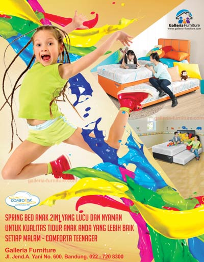 Jual Spring Bed Anak 2in1 Comforta Teenager