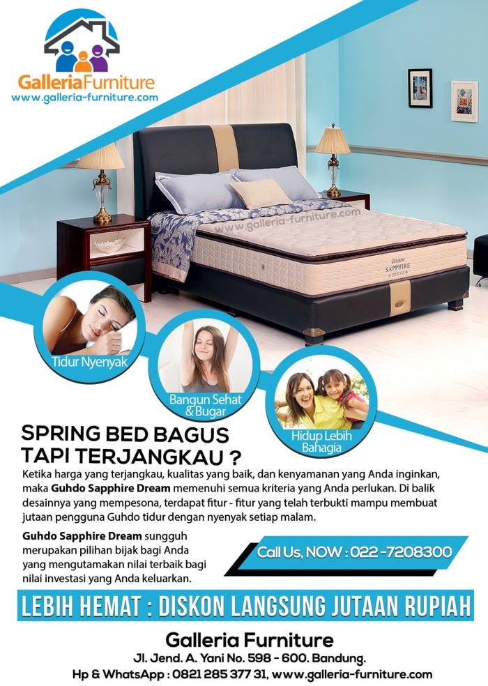 Merk Spring Bed Bagus Harga Murah