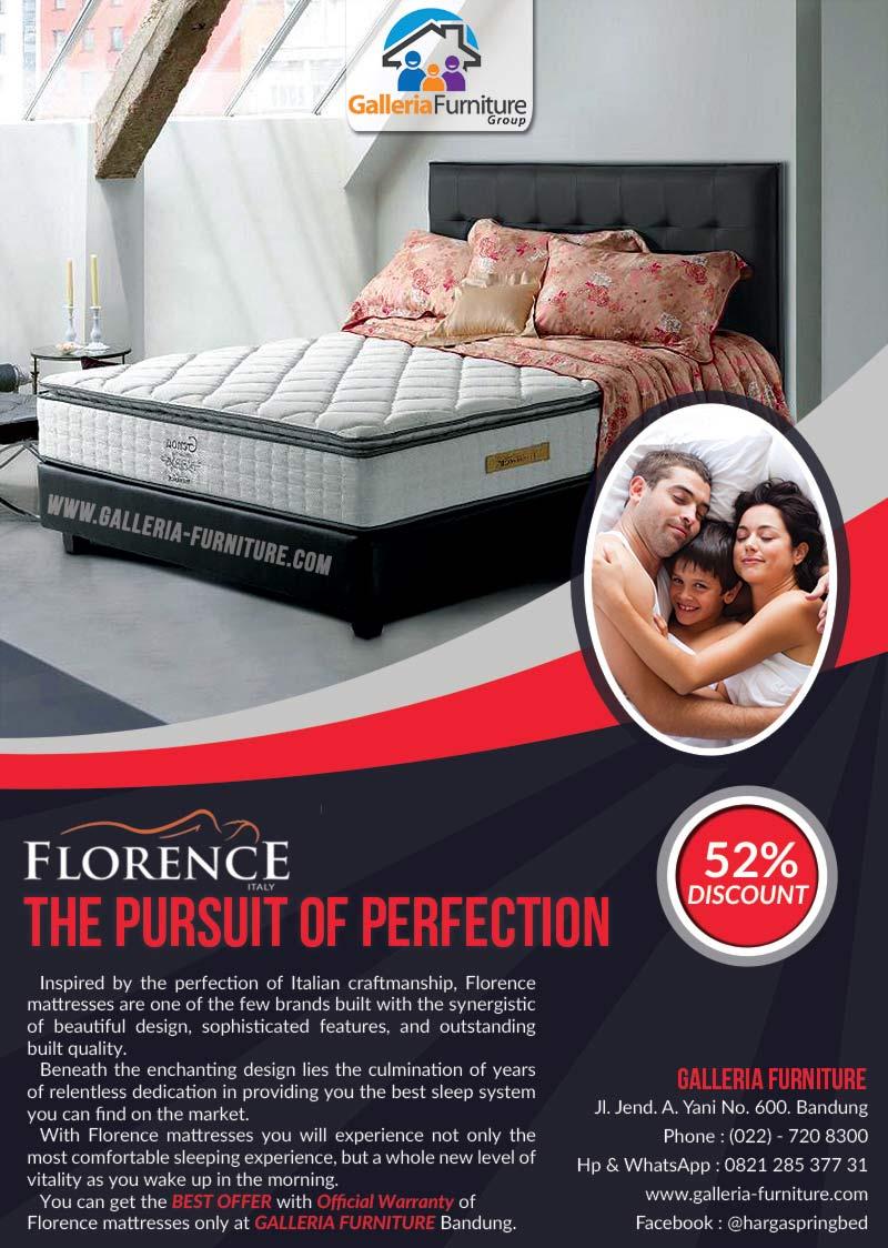 Daftar Harga Kasur Spring Bed Florence Genoa