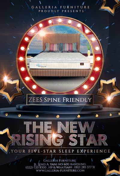 Spring Bed Bagus Zees Spine Friendly Premium