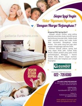 Jual Kasur Matras Guhdo Ruby Dream Murah Bandung
