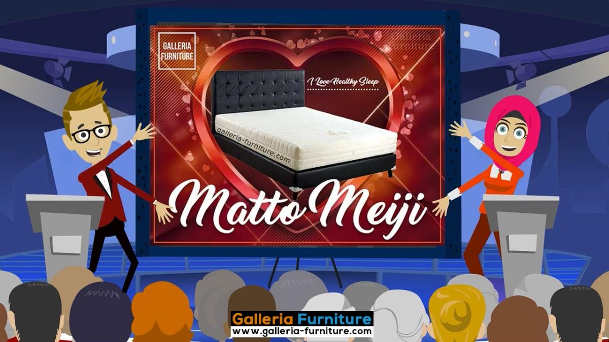 Springbed Matto Meiji by Inoac Foam Jepang –Bagus