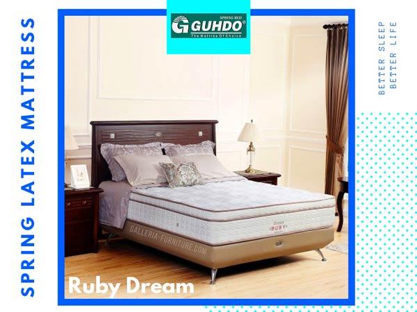 Daftar Harga Springbed Guhdo Ruby Dream